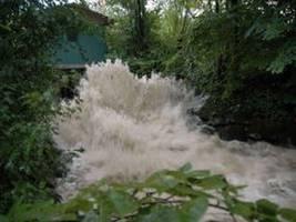 Hoher Wasserdurchfluss